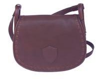 Brown female bag Stock Photos