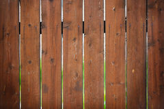 Brown fence with a bright blurred Royalty Free Stock Photo