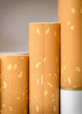 Brown filter cigarettes Royalty Free Stock Photography