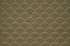 Brown fish scale seamless pattern Royalty Free Stock Photography