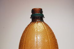 Brown-Flasche und -tropfenfänger Lizenzfreies Stockbild