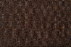 Brown flax cotton fabric texture Royalty Free Stock Photography
