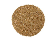BROWN FLAX SEEDS (Linum usitatissimum) Royalty Free Stock Photography