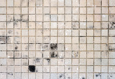 Brown floor tile dirty Stock Photo
