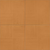 Brown floor tile. Seamless texture of a brown ceramic floor tile simulating wood Stock Photo