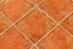 Brown floor tiles Stock Photography