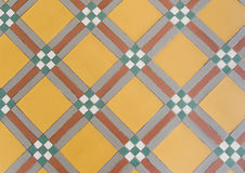 Brown floor tiles Stock Photo