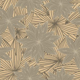 Brown floral background Stock Photo
