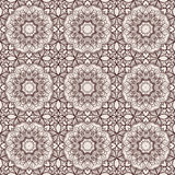Brown floral pattern Royalty Free Stock Photography
