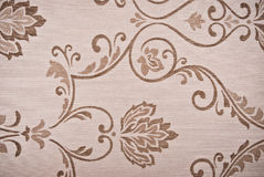 Brown flower abstract background Stock Images