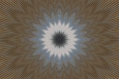 Brown flower pattern floral kaleidoscope. abstract graphics. Brown flower pattern floral kaleidoscope background motifs. abstract graphics royalty free illustration