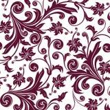 Brown flower seamless pattern Stock Photos