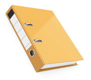 The brown folder Royalty Free Stock Photo