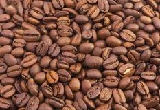 Brown fragrant kawowe fasole Zdjęcie Royalty Free