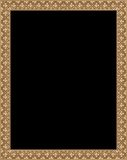 Brown frame Stock Photo