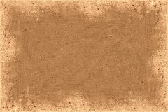 Brown Frame. Brown border acts as an abstract frame Royalty Free Stock Photo