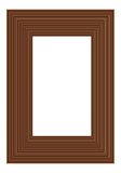 Brown frame Royalty Free Stock Photos
