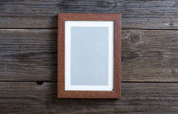 Brown frame Stock Photo