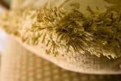 Brown fringe. Background of softness brown fringe Stock Image