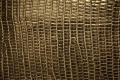 Brown gada tekstury rzemienny tło Zdjęcie Royalty Free