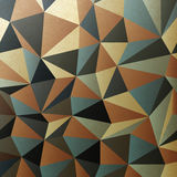 Brown gamut triangle patch surface. Stock Photo