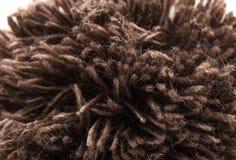 Brown-Garn für Hüte lizenzfreie stockbilder