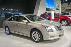 Brown geely xts car Royalty Free Stock Images
