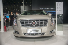 Brown geely xts car Stock Photo