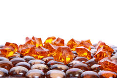 Brown gems Stock Images