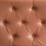 Brown genuine leather sofa pattern Royalty Free Stock Photo