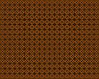Brown geometric pattern vector illustration