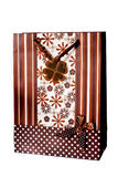 Brown gift bag Stock Photography