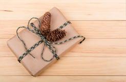 Brown Gift Box Royalty Free Stock Photos