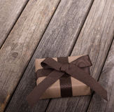 Brown Gift Box Stock Image