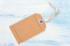 Brown Gift Tag Royalty Free Stock Photos