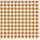 Brown Gingham Stock Photo