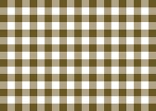 Brown Gingham Pattern Background Royalty Free Stock Image
