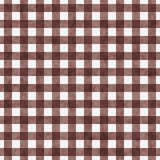 Brown Gingham Pattern Repeat Background Royalty Free Stock Photography