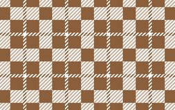 Brown Gingham pattern. Texture from rhombus for - plaid, tablecloths,shirts,dresses,paper,bedding,blankets,quilts and other. Textile products.Vector vector illustration