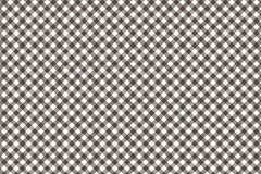 Brown Gingham pattern. Texture from rhombus/squares for - plaid, tablecloths, clothes, shirts, dresses, paper, bedding, blankets,. Quilts and other textile royalty free illustration