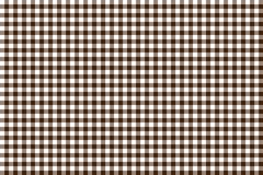 Brown Gingham pattern. Texture from rhombus/squares for - plaid, tablecloths, clothes, shirts, dresses, paper, bedding, blankets,. Quilts and other textile stock illustration
