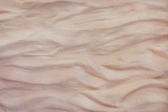 Brown gipsuje betonowej ściany teksturę w falowym bezszwowym szorstkim wzorów, bielu lub szarość sztuki abstrakta tle, obraz royalty free