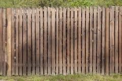 Brown glazurował ogrodzenie Obrazy Royalty Free