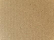 Brown gofrował kartonowego tekstury tło Zdjęcie Royalty Free