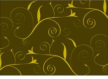 Brown and gold abstract background Stock Photos