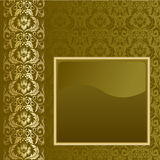 Brown and gold background Stock Photos