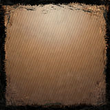 Brown, Gold grunge background. Stock Photography
