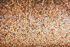 Brown golden abstract bokeh background Royalty Free Stock Images