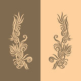 Brown Golden Background 2 Royalty Free Stock Photos