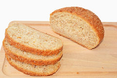 Brown Graham bread Royalty Free Stock Photography